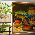 Étterem festmény